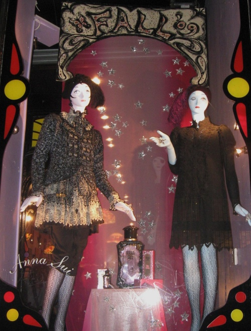 Ana Sui window for Fashion's Night Out photo by aries0325