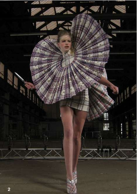 Wild and wonderful collared dress by Jan Taminiau