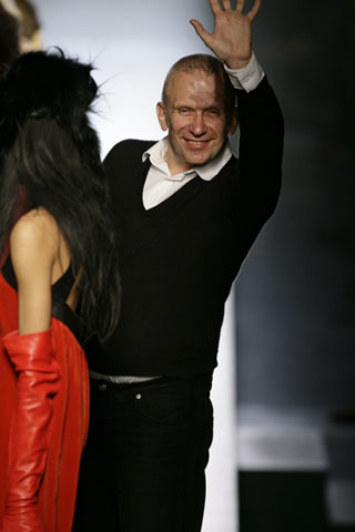 Gaultier Fall 2008 himself