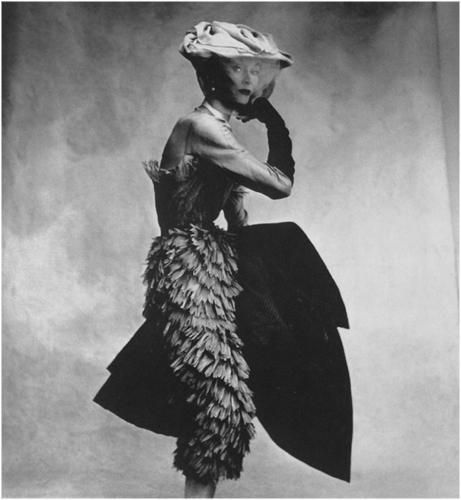 Irving Penn: Balenciaga dress, 1950