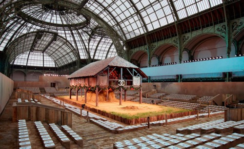 Chanel ss10 Grand Palais Lagerfeld