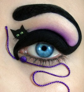 cat eye make up