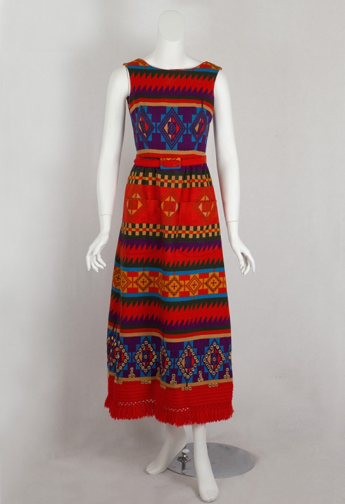 House of Lanvin Aztec Dress